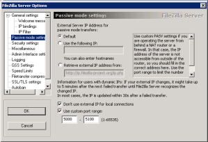Filezilla_port_settings